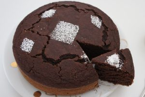Torta biscotto con 3 ingredienti