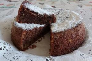 Torta cioccolato, noci e cannella Bimby
