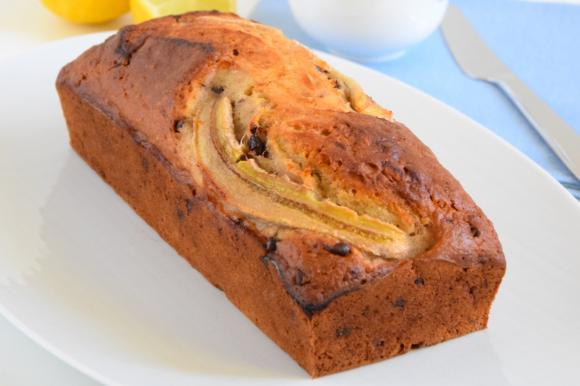 Banana bread integrale senza uova
