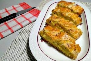 Strudel di patate e formaggio