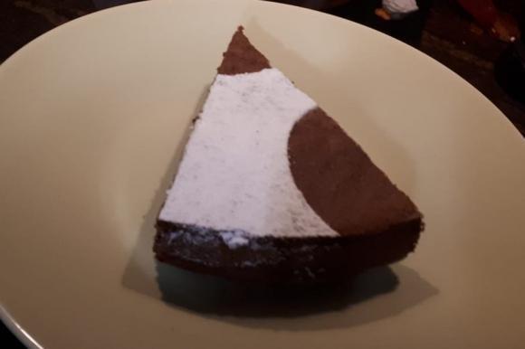 Torta al cioccolato senza lievito