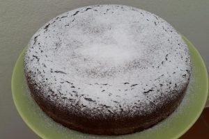 Torta cocco e cacao senza glutine