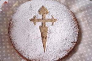 Torta di Santiago con farina di mandorle