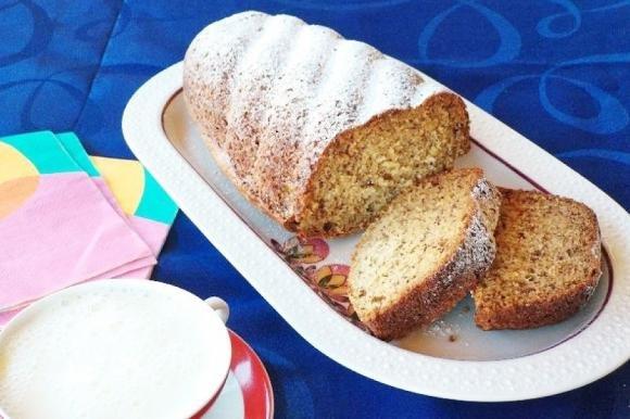 Plumcake banana bread bimby
