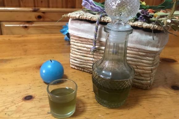 Liquore di spinaci fatto in casa