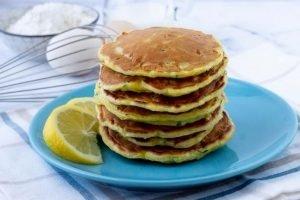 Pancake ripieni di zucchine e formaggio