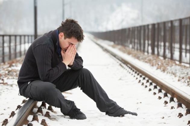Come combattere la depressione maschile