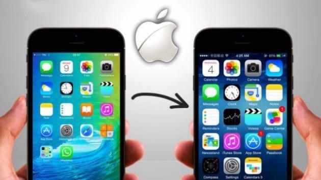 Utenti Apple insoddisfatti di iOS 10? Ecco come tornare all'iOS 9