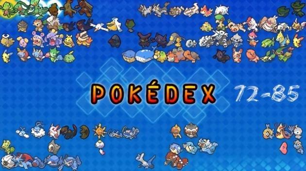 Pokémon GO: guida ai Pokémon dal numero 72 al numero 85