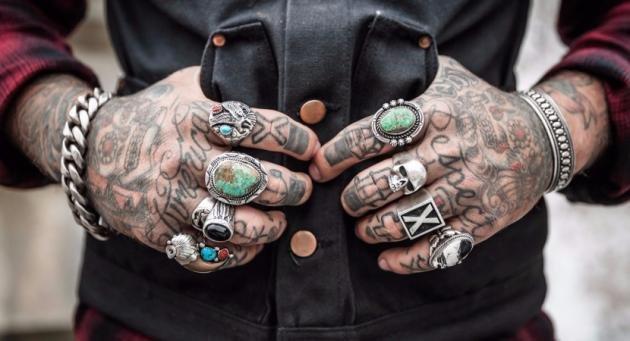 Trash polka tattoo: quali sono e significato dei simboli