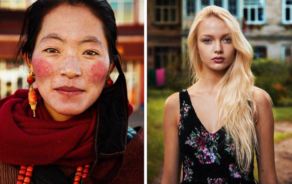 Fotografo scatta foto di donne comuni in tutto il mondo: la bellezza non ha nazionalità