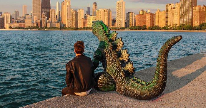Compra modello in scala di Godzilla per 8 dollari: ecco cosa se ne fa. Fantastico!