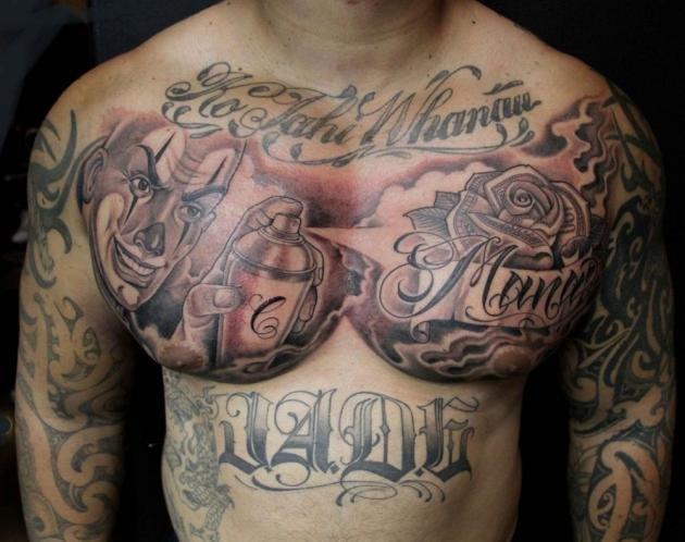 Tattoo chicani: quali sono e significato dei simboli