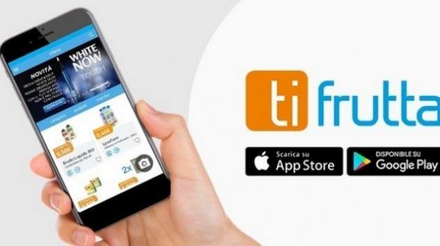 Ti Frutta, l'app che ti fa guadagnare soldi dalla spesa