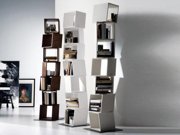 Ecco come ricavare una libreria in casa