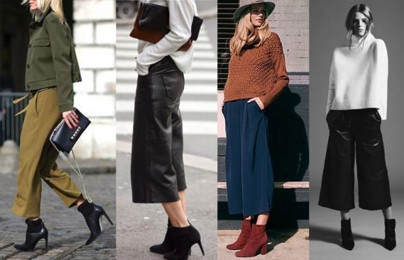 Pantaloni culotte: ecco come indossarli al meglio