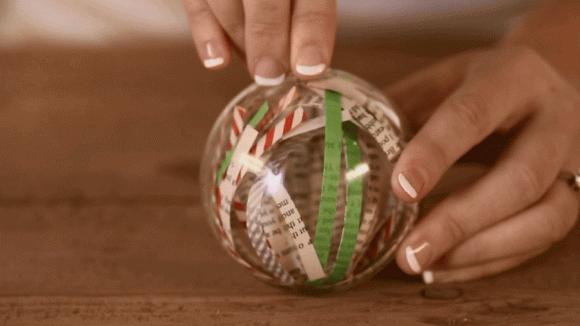 Palline di Natale fai da te: idee semplici da realizzare