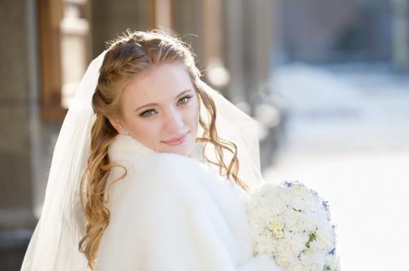 Matrimonio in inverno: ecco come scegliere l'abito