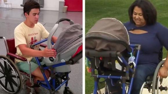 Questa donna non può occuparsi del neonato. Poi il figlio di 16 anni le fa questo regalo!