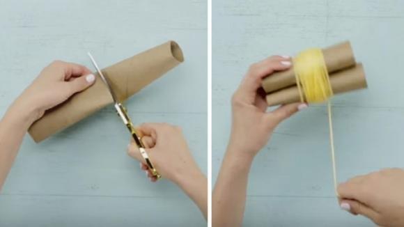 Ecco come realizzare un tappeto con dei pom pom fai da te
