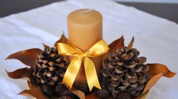Addobbi natalizi con le pigne: come decorare casa a Natale
