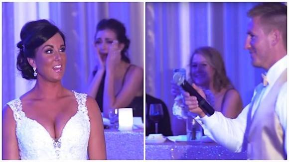 Rivela alla moglie che presto saranno in 3. Poi la sposa si gira e scoppia in lacrime!