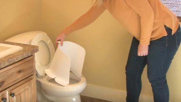 Ecco come mantenere pulita la tavoletta del wc. Tutte le casalinghe lo vorranno subito