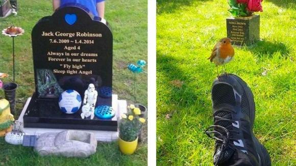 Fa visita alla tomba di suo figlio e gli chiede di darle un segno. Quello che accade è da pelle d'oca!