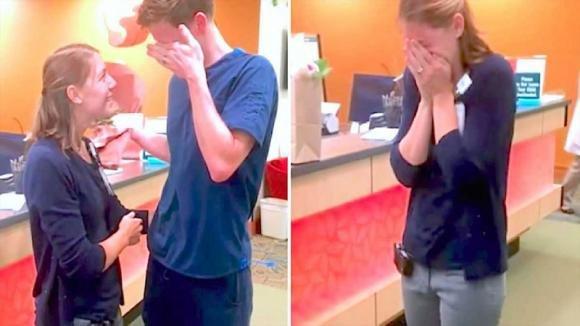 Questa coppia era in attesa di adottare un bambino. Poi il marito annuncia a tutti la bella notizia