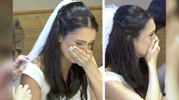 Il marito le indica l'uscita d'emergenza. La sposa riceve il regalo che ha sempre sognato!