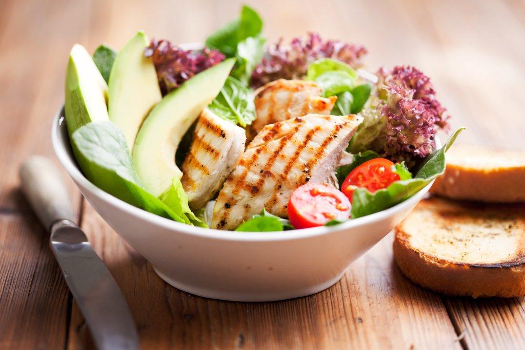 modello di menu dietetico chetogenico