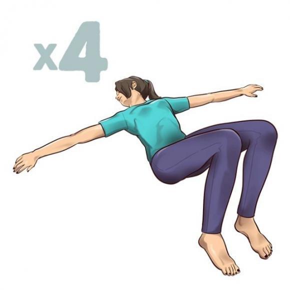 Esercizi di stretching di un minuto per alleviare il mal..