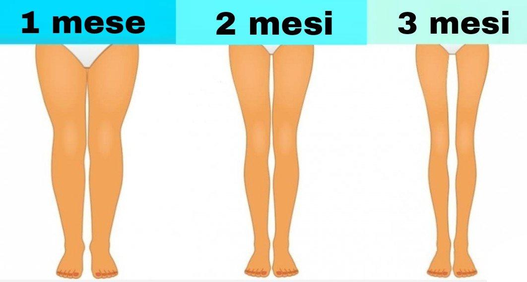 3 Semplici Esercizi Per Dimagrire Le Gambe Da Fare Prima Di Dormire