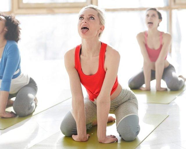esercizio di respirazione per perdere peso