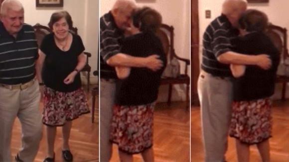 Una vita insieme, l'emozionante video di una coppia di 90enni che balla commuove il web