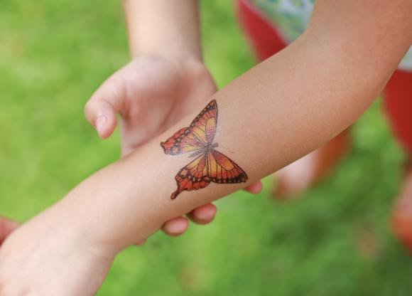 Tatuaggio farfalla: significato e dove farlo