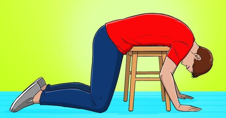 Questo semplice esercizio ti aiuterà a ridurre il mal di..