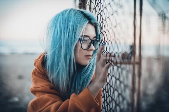 Shatush blu: come farlo e idee alla moda