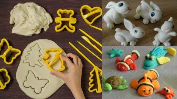 Creazioni in pasta di sale, un passatempo divertente per adulti e bambini
