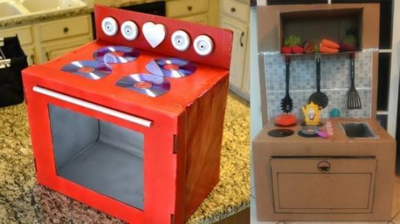 Come realizzare una cucina giocattolo per il divertimento dei bambini