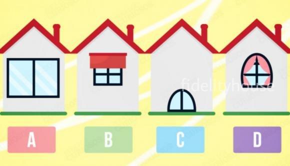 Scegli la casa che ti piace di più e scopri i lati più importanti del tuo carattere