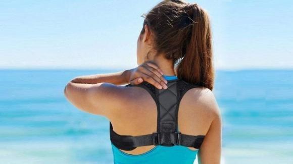 Mal di schiena, si può risolvere con un correttore posturale