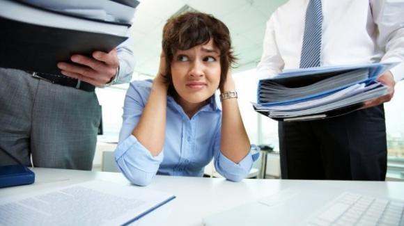 Ansia e stress sul lavoro, cosa sono e da cosa sono causate