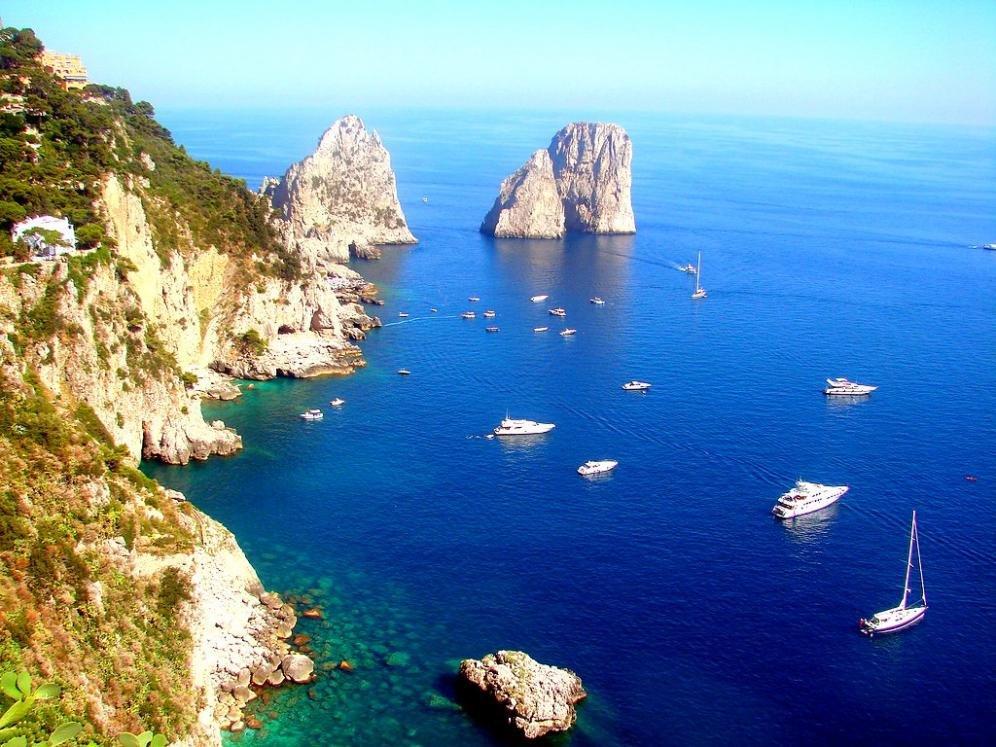 Capri, regina d'Italia per il turismo