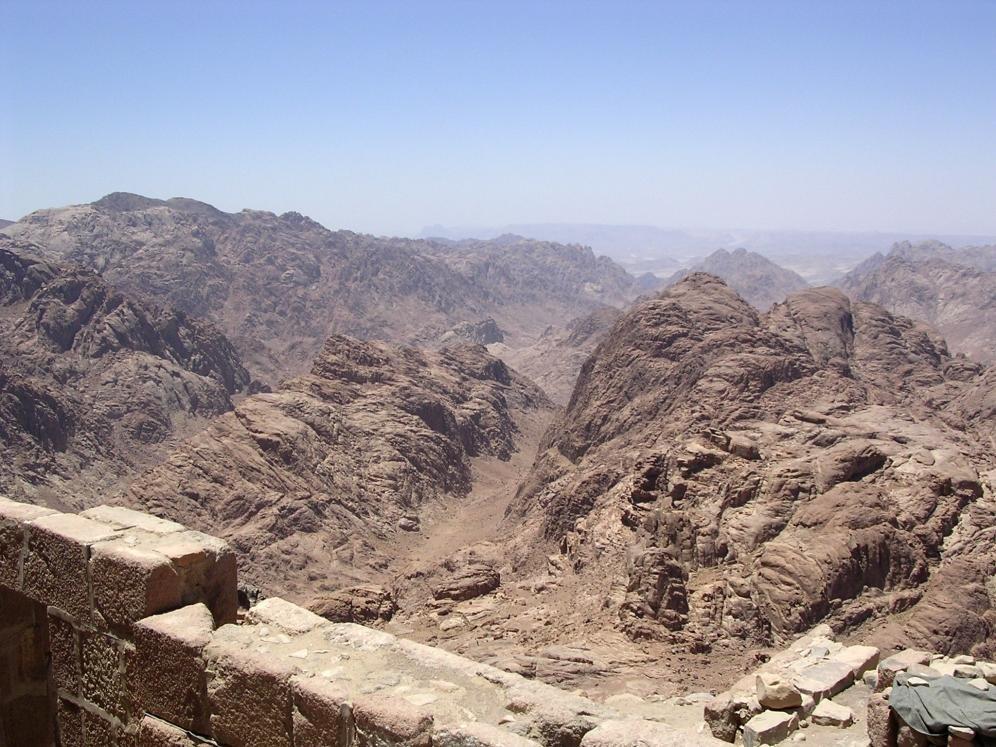 Il Monastero di Santa Caterina situato nel Sinai