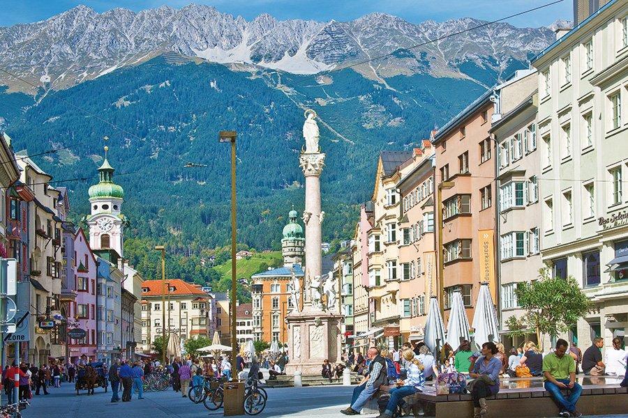 Innsbruck tra i mercatini e castelli a Pasqua