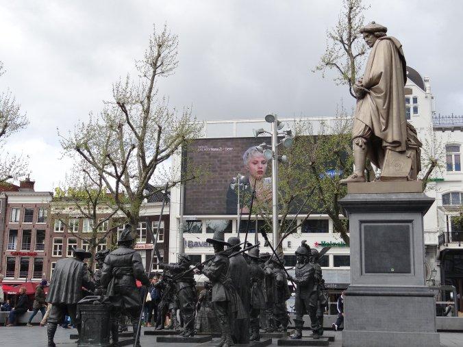 Piazza Rembrandt ad Amsterdam