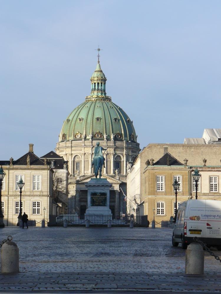 Palazzo Reale di Amalienborg a Copenaghen