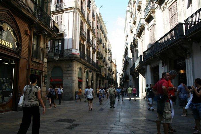 Barri Gòtic a Barcellona