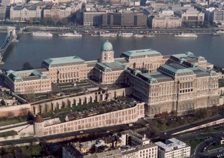 Castello di Buda a Budapest